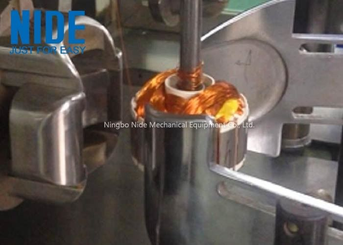 Outer Rotor Coil Armature Winding Machine External For Exhuast Fan Motor