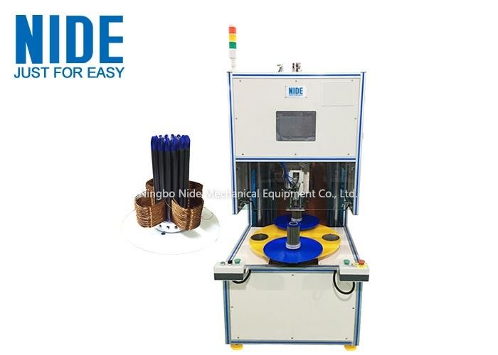 Vertical Electric Motor Stator Automatic Coil Winding Machine High Speed